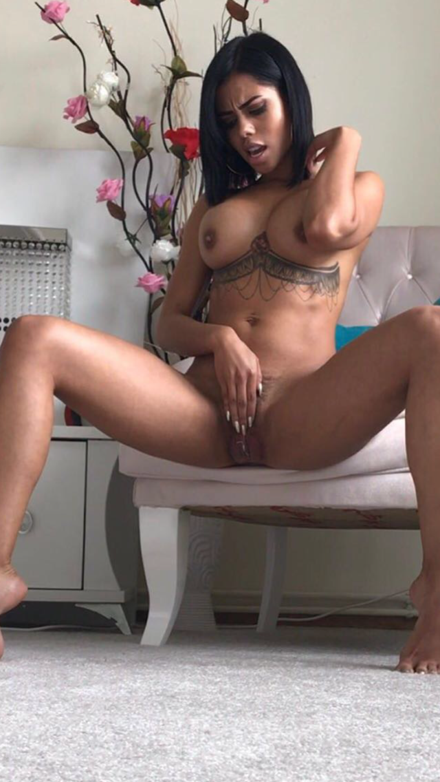 image Inked latina beauty sensually cocksucking pov